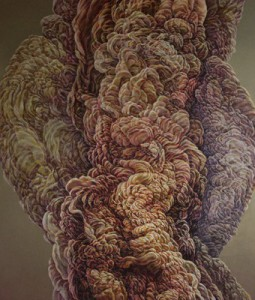 Untitled ii, 2009. Oil on Canvas. 140x166cm